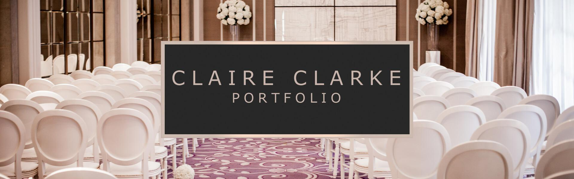 CLAIRE CLARKE PORTFOLIO