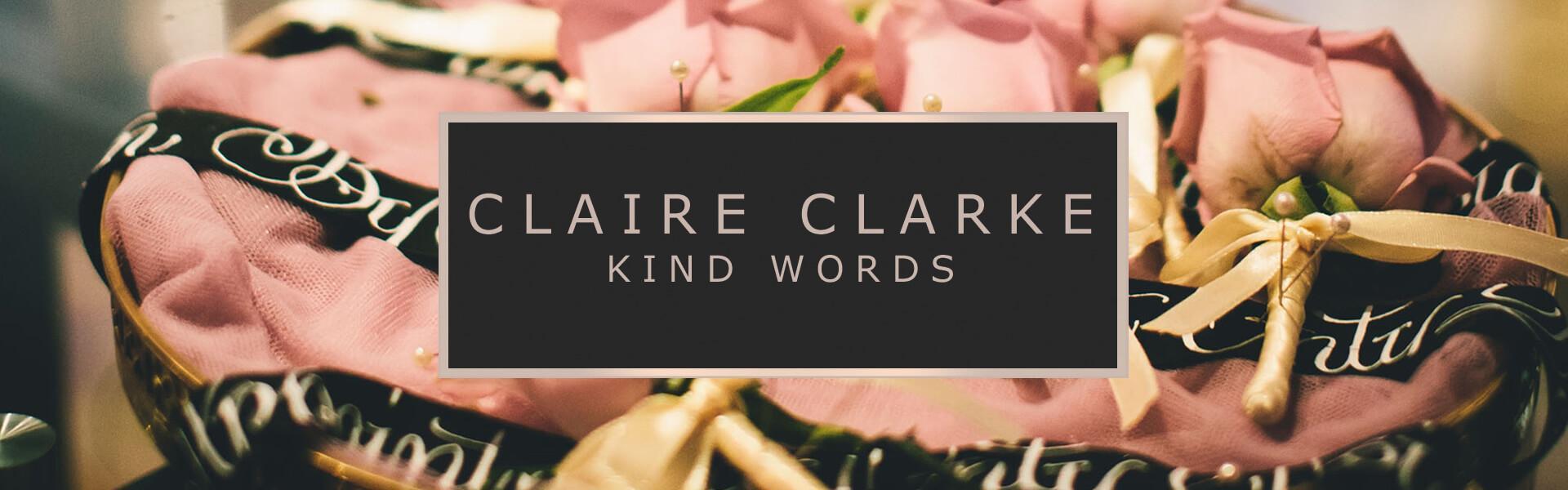Claire Clarke Testimonials