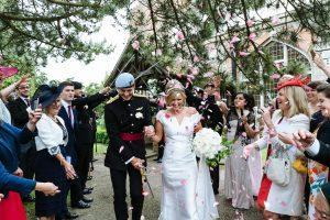Real Wedding ~ Sophie & Todd ~ Confetti Shot