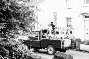 Real Wedding ~ Sophie & Todd ~ Land Rover
