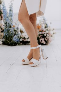 Block Heel Wedding Shoe