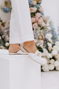 Flat Wedding Shoe