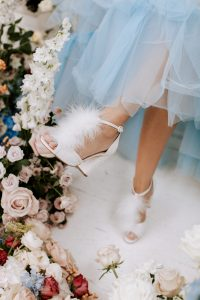 Pom Pom Wedding Shoes